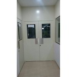 Clean Room Galvanized Door