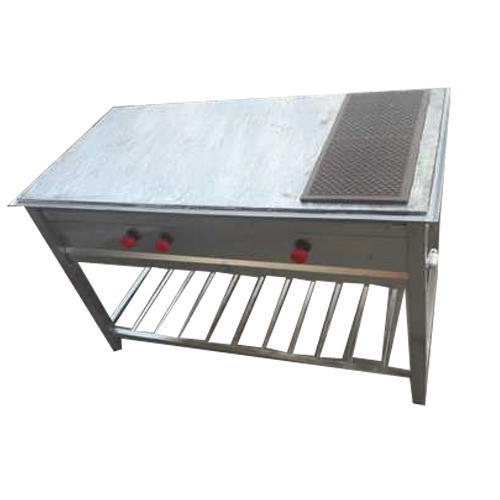 Stainless Steel Chapati Plate With Puffer