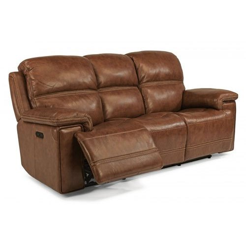 Brown Reclining Leather Sofa Rs 75000