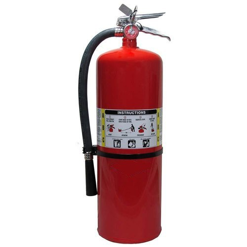 Red Mild Steel ABC Fire Extinguisher, Capacity: 1 Kg To 5 Kg