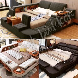 Black Oak Wood Universal Bed, Warranty: 1 Year