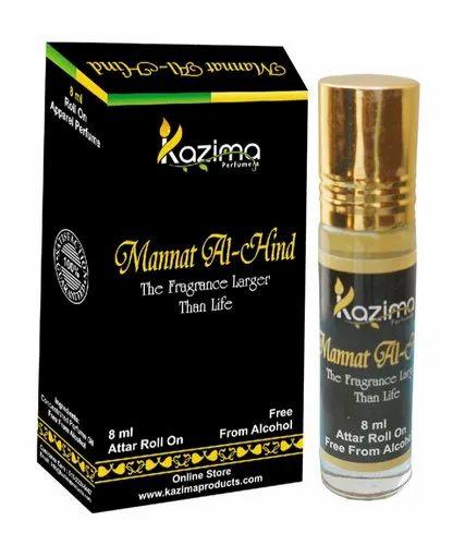 Kazima Mannat-Al-Hind Apparel Concentrated Attar Perfume