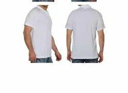 Adidas White Poly Cotton Tshirt