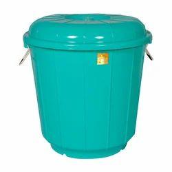 Plastic Green Heavy Duty Drum, Capacity: 25 L