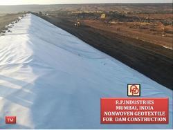 Non Woven Geotextile For Dam Construction