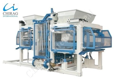 Fully Automatic Cement Block Making Machine - Cement Brick