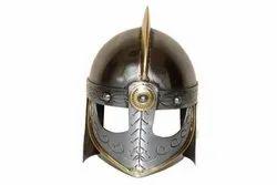Viking Norman Mini Silver Helmet Home Decorative Table Top Halloween Gift