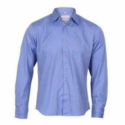 Men's Cotton Plain Shirt