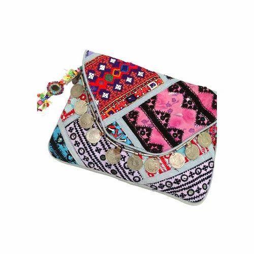 5d11a71733 Multicolor Female Banjara Antique Clutch Bag Vintage Coin Purse, Rs ...