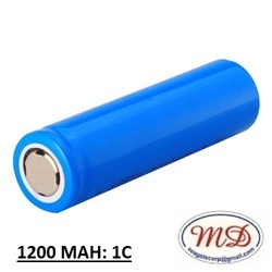 1200 mAh Lithium Ion Battery, Voltage: 3.7 V