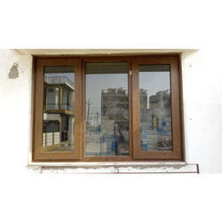 Brown Pvc Home Window Height 3 To 5 Feet