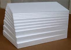 Sheets Rectangular Thermocol Sheet, Thickness: 2-4 Mm
