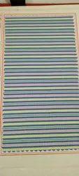 Polyester Viscose Uniform Fabric, Striped