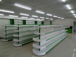 MS Double Side Shelves