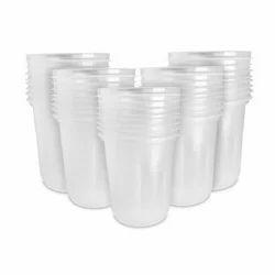 Plastic Disposable Transparent Glass