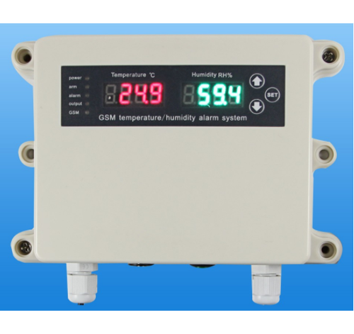 Temperature And Humidity Monitoring And Control System
