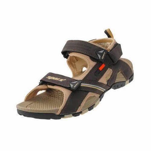 9d6a60f6b0c Sparx Men Stylish Brown Sandals