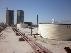 Metal Water Storage Tank, Capacity: 30000-5000000 Liter