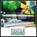 Profile Ground Worm Shaft