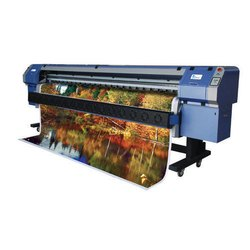 Solvent Ink Allwin Konica 8 Head Printer Machines 42 PL, 980 Kg