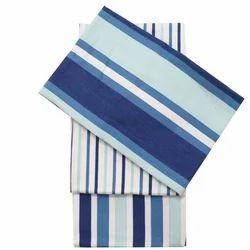 Blue, White Cotton Kitchen Towel