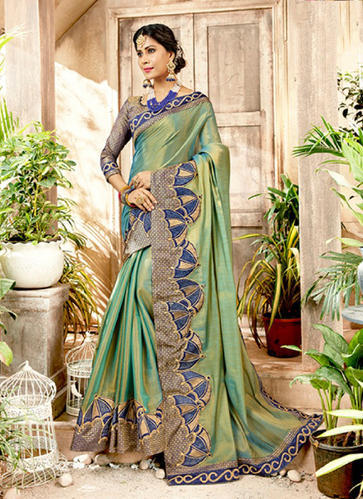 0946bc751f Art Silk Party Wear Designer Sarees, Rs 1525 /piece, Surat Wholesale ...