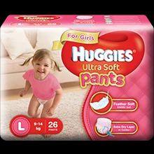 Huggies Ultra Soft Pants For Girls