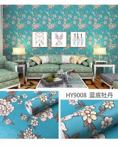 Pvc Self Adhesive Wallpaper Size 45 X 500 Cm Rs 150 Roll Rangoli Advertisers Id 22154405262