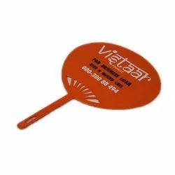 Promotional Hand Fan Normal Size (L. 34 X B. 24 cm)