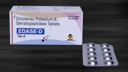Diclofenac Potassium 50 Mg & Serratiopeptidase 10 Mg Tablets