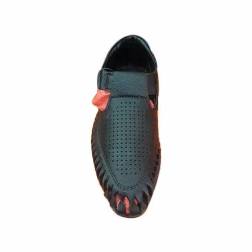 ef99fe898e7 Blue Men Black Semi Formal Shoes