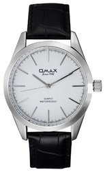 OMAX Analog White Dial Watch