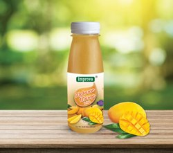 improva Yellow Mango Juice, Packaging Size: 250 ml, Packaging Type: Pet Bottle