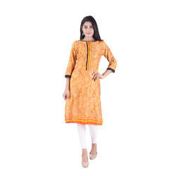 Lavanya Cotton Formal Designer Printed Kurti