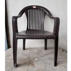 Brown Colour Plastic Chair