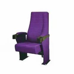 Purple Push Back Theater Chair