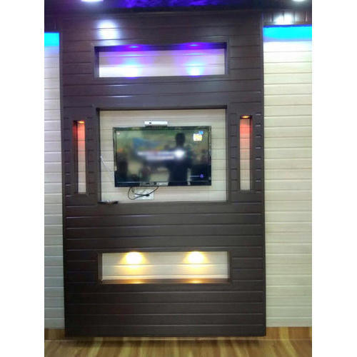 Pvc Wall Panel With Led Light At Rs 15 Square Feet