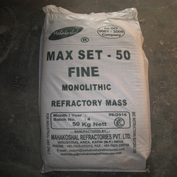 Premium Accoset 50 Fine Refractory Cement, 25 Kg/50 Kg, Packaging Type: Bag