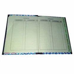 Ledger Copy Index Register
