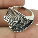 Passionate 925 Sterling Silver Ring Handmaded