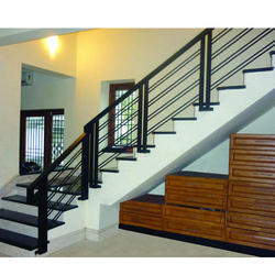 Indoor Mild Steel Staircase