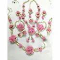 Ladies Flower Design Necklace Set