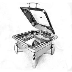 Grand Square 2/3 Hydraulic Chafer with Dolphin Legs