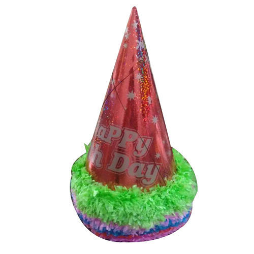 Paper Birthday Cap At Rs 30 Piece
