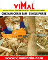Electric Chain Saw Machine (Single Phase)