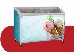 Blue Star Premium Display Freezer, Number Of Basket: 4-5 Baskets, Refrigerant Used: R404A
