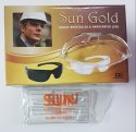 Sun Gold Safety Spectacles