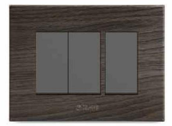 Caprina Series African Wenge Wall Mounted Switch Plate