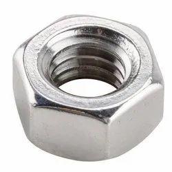 Hexagonal Stainless Steel Nut, Packaging Type: Box