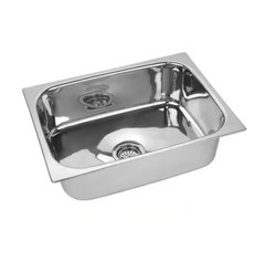 Stainless SteelSquare Bowl Kitchen Sink, Size - 16 X 18 X 8